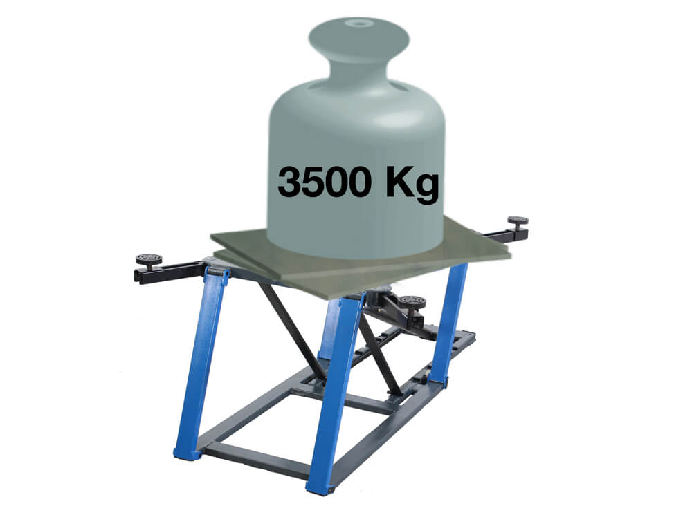Verstärkte Traglast-Konstruktion bis 3500kg